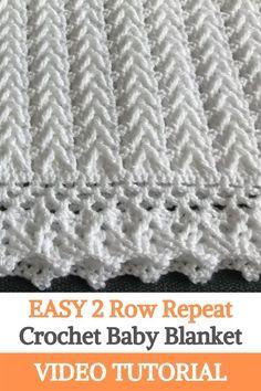 Crochet Baby Blanket Tutorial, Free Baby Blanket Patterns, Crochet Baby Blanket Free Pattern, Easy Crochet Baby Blankets, Crocheted Baby Blankets, Crochet Baby Shawl, Crochet Baby Blanket Beginner, Easy Baby Blanket, Knit Blankets