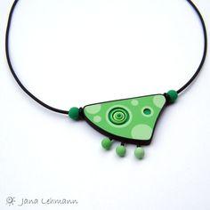 Gorgeous green pendant by feeliz, via Flickr