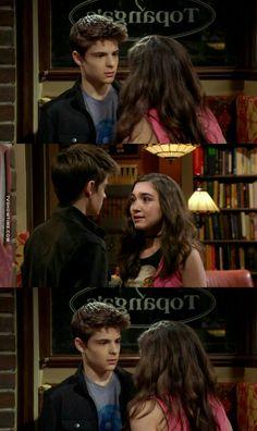 "#GirlMeetsWorld 3x01 ""Girl Meets High School: Part One"" - Farkle and Riley"