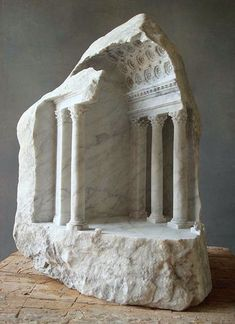 ~ Matthew Simmonds - Basilica II, Carrara marble, 2007