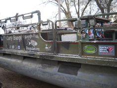 bowfishing pontoon