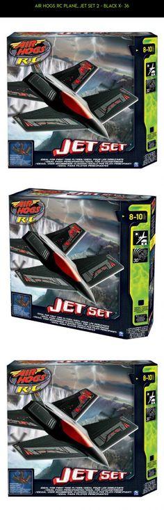 Air Hogs RC Plane, Jet Set 2 - Black X- 36 #gadgets #tech #air #plans #shopping #kit #products #camera #drone #plane #fpv #hogs #parts #car #racing #technology