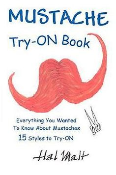 Mustache Try-On Book by Hal Malt