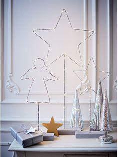 led dekofiguren weihnachtsdekoration weihnachten deko scandi