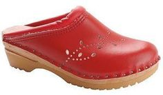 TROENTORP BASTAD WOMEN'S CLOGS O'KEEFE - RED