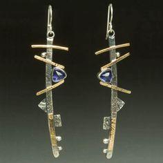 Jewellery we love!  www.silvertownart.com  Leigh Griffin