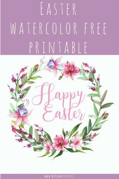 Hosting Easter this year and not looking to spend a fortune on Easter decor? Look no further this Easter printable makes the perfect wall art or decor for any area!