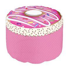 http://www.zazzle.com/doughnut_pouf-256016527902548945  ..  Doughnut Pouf