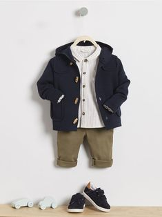 Look bébé garçon, collection automne hiver 2018 - Cyrillus Little Boy Outfits, Baby Boy Outfits, Kids Outfits, Communion Hairstyles, Chic Baby, Baby Kids Clothes, Cute Kids, Kids Fashion, Boys