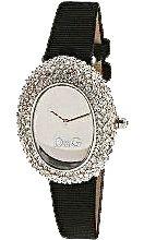 D&G Dolce & Gabbana Women's Ribbed Fabric Music Watch
