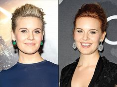 Maggie Grace Debuts New Red Hair Color: Red Carpet Photos - Us Weekly