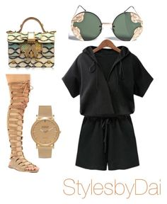 """Summer cuteness"" by dharris21 ❤ liked on Polyvore featuring Giancarlo Petriglia, Spitfire and Shore Projects"