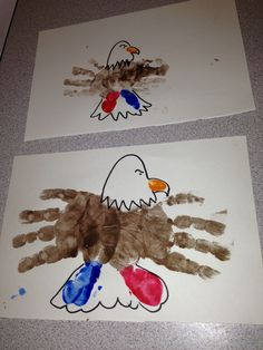 Memorial Day infant toddler art projects.... this is too cute can't wait to do this