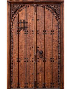 Puertas Rusticas | Mallorca Windows Door Design Interior, Gate Design, Garden Gates, Wood Doors, Tall Cabinet Storage, Windows, Exterior, House, Furniture