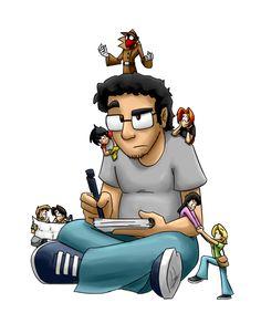 Let me work!!! by ArturoEz on DeviantArt