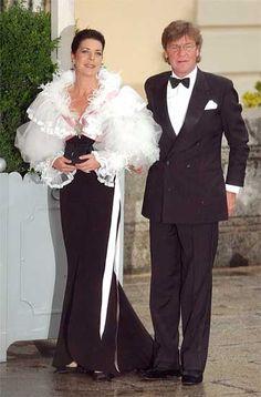 Tailored mode: Carolina de Mónaco