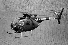 The Hughes company's longest running helicopter program began in the early 1960s when Hughes won a U.S. Army competition to produce the OH-6A Cayuse light observation helicopter. The company built more than 1,400 OH-6As through that decade.