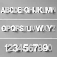 paper chain typography by IS Creative Studio