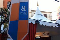 Foto de Stand Costablanca Fira de Tots Sants 2015 - Señalización institucional #alicante #stand