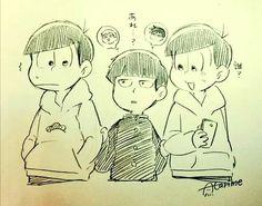 Aha Shigeo ( Mob psycho 100 ) perdu avec les seiyuu de Osomatsu & Reigen Arataka et Todomatsu & Ritsu Kageyama ( son petit frère )