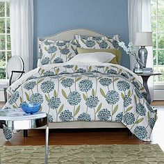 Hillary Flannel Bedding. Queen duvet cover: $99 ($79 on sale)