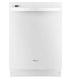 Upgraded Whirlpool Dishwasher (white) - ENERGY STAR® Qualified Dishwasher With Silverware Spray