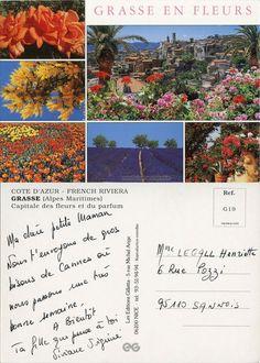 Grasse, Capitale des fleurs et du parfum (from http://mercipourlacarte.com/picture?/59)