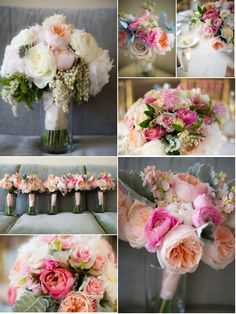 This is one of the prettiest flower bouquets & color palette that I've ever seen.