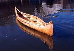 My birchbark canoe.