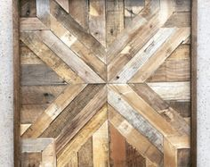 Reclaimed Wood Wall Art barn wood reclaimed от DallasFarmhouse