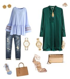 Untitled #46 by dhymundmonet on Polyvore featuring polyvore, fashion, style, H&M, Chicwish, Hollister Co., Dsquared2, Kristin Cavallari, Jimmy Choo, Prada, Michael Kors, Miriam Haskell, Cartier, Rachel Jackson and clothing