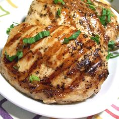 grilled pork chops Seafood seasoning is used to make a marinade that gives these grilled pork chops the delicious flavor of the Chesapeake Bay. More seafood seasoning can be sprinkled on at grill time to provide an extra kick. Pork Rib Recipes, Grilling Recipes, Meat Recipes, Cooking Recipes, Dinner Recipes, Dinner Ideas, Grilling Tips, Hamburger Recipes, Pigs