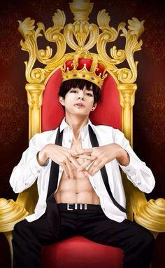 #TheKing #V #TaeTae #TaeHyung #BangtanBoys #Sexy