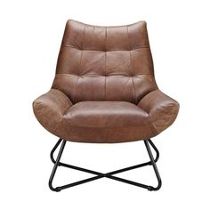 Graduate Lounge Chair Cappuccino | Products | MOE'S Wholesale