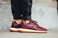 "Nike Roshe Two Leather Premium ""Team Red/Gum"" - EU Kicks Sneaker Magazine"