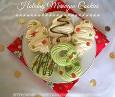 Simply Sweet 'n Savory: Holiday Meringue Cookies