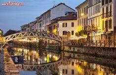 Milano. I navigli di Leonardo