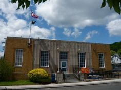 vintage Suffern, NY  | The post office was built in 1935 and the architect was Louis A. Simon ...