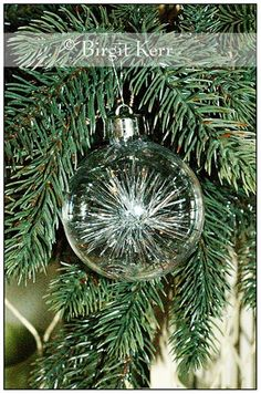 Tinsel Filled Ornaments