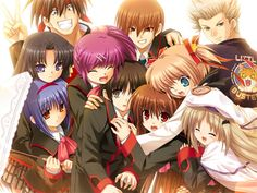 Tailer per Little Busters! Refrain