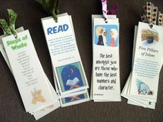 Ramadan Bookmarks printable http://handmadebeginnings.blogspot.com/2011_07_01_archive.html
