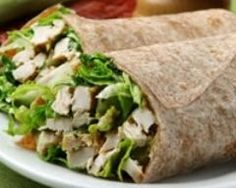 Salade césar façon wrap (facile, rapide) - Une recette CuisineAZ : http://www.cuisineaz.com/recettes/58992-impression.aspx