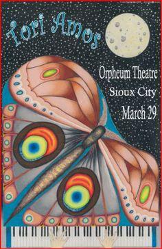 Tori Amos - concert poster