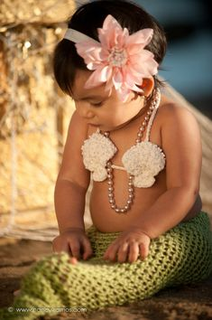Baby Mermaid Tail  Photo Prop or Baby Costume  by SquishyCouture, $37.00