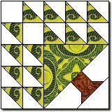 tree quilt block | Temperance Tree Quilt Block | Quilt: BLOCKS