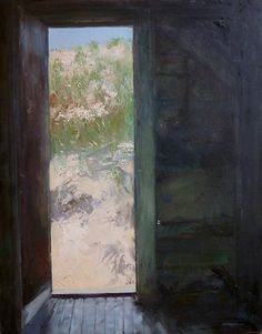 JOAN COBB MARSH  Dune Shack Door, Sunlight