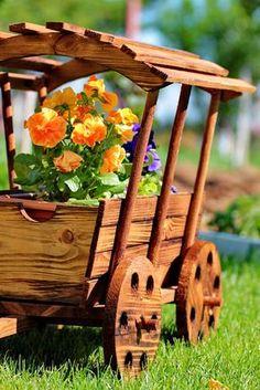 Verleihen Sie Ihrem Zuhause mit Home Decor von The - Amenagement Jardin Recup Pallet Crafts, Diy Wood Projects, Wood Crafts, Woodworking Projects, Diy And Crafts, Projects To Try, Wooden Planters, Wooden Garden, Planter Boxes
