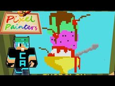 Minecraft / Food Pixel Painters / Gamer Chad Plays - YouTube