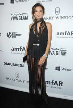Alessandra Ambrosio in Zuhair Murad Couture