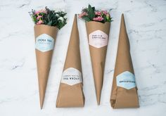 The future of flower packaging.As a school project we were given a brief from Swedbag to update the flower packaging from todays solution. The packaging should work as a whole concept and be more environmentally friendly and give the consumer a holistic…